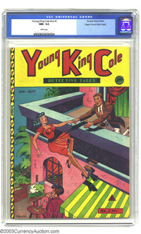 Young King Cole V2#1 Mile High pedigree (Novelty Press, 1946) CGC NM- 9.2 White pages . From the Edgar Church collection...