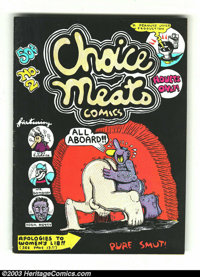 Choice Meats Comics #1 and 2 Group (Adam's Apple Distributing Co., 1971-73) Condition: Average VF-. This lot consists of...