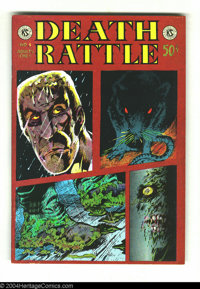 Death Rattle #3 - First printing (Kitchen Sink, 1973) Condition: VF. Artists in this issue include Tim Boxell and Mike V...
