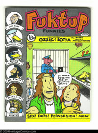 Fuktup Funnies #1 - First printing (Head Imports, 1972) Condition: NM-. Marty Nelson art. Overstreet does not yet list v...