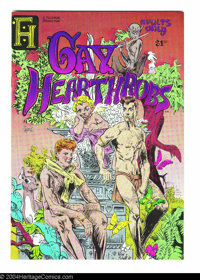Gay Hearthrobs #1 (Ful-Horne Production, 1976) Condition: NM. Cover art by Wiley Spade. Explicit contents! Overstreet do...