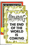Silver Age (1956-1969):Alternative/Underground, Humbug Group (Humbug, 1957-58) Condition: Average FN+. This lotconsists of two copies of issues #1 (FN- and FN+), plus issu...(Total: 4 Comic Books Item)