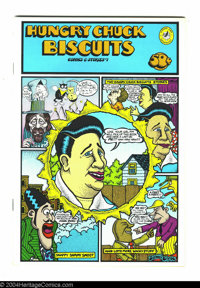 Hungry Chuck Biscuits Comics and Stories #1 (Krupp Comic Works, Inc., 1971). Art by Dan Clyne, Skip Williamson, and Denn...