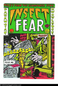 Bronze Age (1970-1979):Alternative/Underground, Insect Fear #2 (Print Mint, 1970) Condition: NM-. Art by Spain, S. Clay Wilson, Kim Deitch, and Rory Hayes. Overstreet does ...