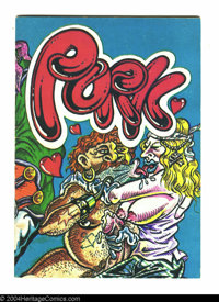 Pork #nn - First printing (Co-op Press, 1974) Condition: VF. By S. Clay Wilson. Loaded with violence and sexual depravit...