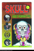 Bronze Age (1970-1979):Alternative/Underground, Skull Comics #1 - First printing (Rip Off Press, 1970) Condition: VF/NM. Art by Greg Irons. Overstreet does not yet list val...