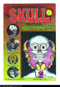 Skull Comics #1 - First printing (Rip Off Press, 1970) Condition: VF/NM. Art by Greg Irons. Overstreet does not yet list...