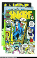 Bronze Age (1970-1979):Alternative/Underground, Snarf #3-5 Group - First printings (Krupp Comic Works, 1972) Condition: Average VF. This lot consists of issues #3, 4, and 5...