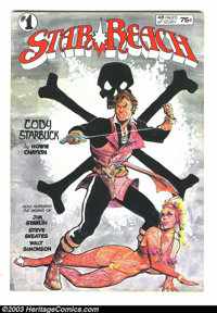 Star Reach #1 and 4 Group (Star Reach Productions, 1974-76) Condition: Average VF+. Art by Jim Starlin, Howard Chaykin...