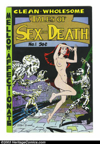 Tales of Sex and Death #1 and 2 Group (Print Mint, 1971-75) Condition: Average VF/NM. This lot consists of issues #1 and...