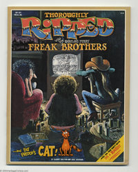 Thoroughly Ripped with the Fabulous Furry Freak Brothers nn (Rip Off Press, 1978) Condition: VF. Alright, dudes, here's...