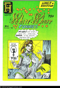 White Whore Funnies #1 (Ful-Horne Production, 1975) Condition: VF. Art by Wiley Spade. Overstreet does not yet list valu...