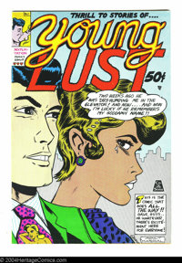 Young Lust #1 - First printing (Print Mint, 1970) Condition: VF+. Art by Bill Griffith and Jay Kinney. Overstreet does n...