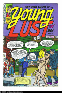 Young Lust #2 - First printing (Print Mint, 1972) Condition: FN. Art by Bill Griffith, Grass Green, and Jay Kinney. Over...