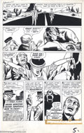 Original Comic Art:Panel Pages, Jack Kirby - Original Art for Tales of Suspense #25, page 5 (Marvel, 1961). Outstanding twice-up pre-hero monster page by th...