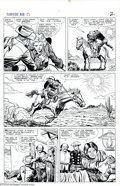 Original Comic Art:Panel Pages, Larry Lieber and Carl Hubbell - Original Art for Rawhide Kid #51, Group of 11 pages (Marvel, 1966). Pages from Larry Lieber'...