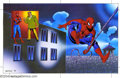 Original Comic Art:Splash Pages, Ken Steacy - Original Art Splash Page for Spider-Man (Marvel,1996). Nice double-page spread from an unidentified publicatio...