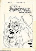 Original Comic Art:Covers, Ray Dirgo (Attributed) - Original Cover Art for Scooby Doo #9(Charlton, 1976). Scooby and Shaggy get a voodoo makeover in t...