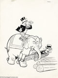 Original Comic Art:Covers, Al Smith (Attributed) - Original Cover Art for Mutt and Jeff(Harvey, undated). Illustration for an unknown issue of Harvey'...
