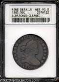 Early Half Dollars: , 1805 VG8 ANACS. The current Coin Dealer Newsletter (...