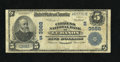 National Bank Notes:Kentucky, Lebanon, KY - $5 1902 Plain Back Fr. 600 The Citizens NB Ch. #(S)3988. The signatures have faded, but the officers were...