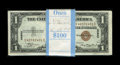 Small Size:World War II Emergency Notes, Fr. 2300 $1 1935A Hawaii Silver Certificates. Original Pack of 100.Choice Crisp Uncirculated.. It has been quite awhile sin... (Total:100 notes)