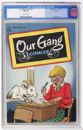 Golden Age (1938-1955):Humor, Our Gang #20 File Copy (Dell, 1945) CGC VF+ 8.5 Off-white pages....