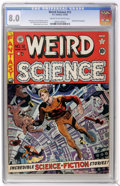 Golden Age (1938-1955):Science Fiction, Weird Science #12 (EC, 1952) CGC VF 8.0 Cream to off-whitepages....