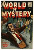 Golden Age (1938-1955):Horror, World of Mystery #6 (Atlas, 1957) Condition: FN....