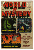 Golden Age (1938-1955):Horror, World of Mystery #2 (Atlas, 1956) Condition: FN+....