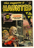 Golden Age (1938-1955):Horror, This Magazine Is Haunted #4 (Fawcett, 1952) Condition: FN+....