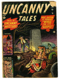 Golden Age (1938-1955):Horror, Uncanny Tales #1 (Atlas, 1952) Condition: GD-....
