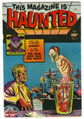 Golden Age (1938-1955):Horror, This Magazine Is Haunted #7 (Fawcett, 1952) Condition: VF-....