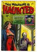 Golden Age (1938-1955):Horror, This Magazine Is Haunted #5 (Fawcett, 1952) Condition: FN/VF....
