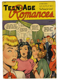 Golden Age (1938-1955):Romance, Teen-Age Romances #1 (St. John, 1949) Condition: VG/FN....