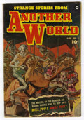 Golden Age (1938-1955):Horror, Strange Stories from Another World #2 (Fawcett, 1952) Condition: VG....