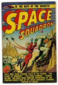 Golden Age (1938-1955):Science Fiction, Space Squadron #3 (Atlas, 1951) Condition: VG+....