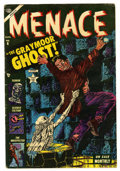 Golden Age (1938-1955):Horror, Menace #6 (Atlas, 1953) Condition: VG+....