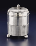 Silver Holloware, British:Holloware, A George III Silver Tea Caddy. William Fontain. London, England.circa 1806-1807. Silver. Marks: (lion passant), (duty ma...