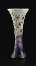 Art Glass:Daum, A French Art Glass Vase. Daum, Nancy, France. Circa 1900. Glass.Marks: DAUM, NANCY, (cross of Lorraine), 226/5766,...
