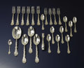 Silver Flatware, American:Gorham, An Assembled Set of American Silver Flatware. Gorham ManufacturingCo., Providence, Rhode Island. Circa 1888-1900. Silver... (Total:25 )