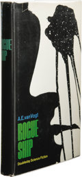 Books:First Editions, A.E. van Vogt's Personal Copy of His Novel Rogue Ship.(Garden City, New York: Doubleday, 1965), first edition, 213page...