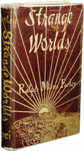 Books:First Editions, Ralph Milne Farley: Strange Worlds. (Los Angeles: Fantasy Publishing Co., Inc.: 1950), first edition, 177 pages, green c...