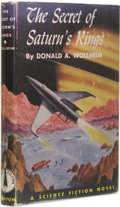 Books:First Editions, Donald A. Wollheim: The Secret of Saturn's Rings.(Philadelphia: The John C. Winston Company, 1954), firstedition,...