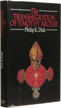 Books:First Editions, Philip K. Dick: The Transmigration of Timothy Archer. (NewYork: Timescape Books, 1982), first edition, 255 pages, jacke...