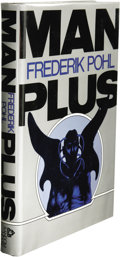 Books:Signed Editions, Frederik Pohl: Signed First Edition of Man Plus. (New York: Random House, 1976), first edition, 215 pages, black quarter...