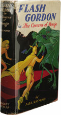 Books:First Editions, Alex Raymond: Flash Gordon in the Caverns of Mongo. (NewYork: Grosset and Dunlap, 1934), first edition, 219 pages, oran...