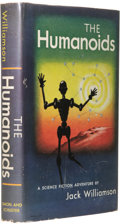 Books:First Editions, Jack Williamson: The Humanoids. (New York: Simon andSchuster, 1949), first edition, 239 pages, dust jacket by LeoManso...