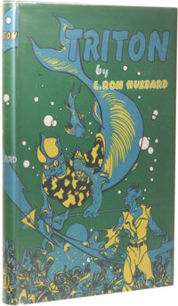 L. Ron Hubbard: Triton and Battle of Wizards. (Los Angeles: Fantasy Publishing Co., Inc., 1949), first edition, 172
