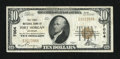 National Bank Notes:Colorado, Fort Morgan, CO - $10 1929 Ty. 1 The First NB Ch. # 7004. ...